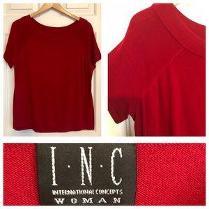 INC Scarlet Top